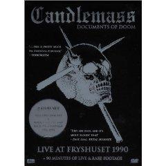 CANDLEMASS documents of doom 2DVD 2003 DOOM METAL**