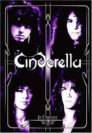 CINDERELLA in concert - the heartbreak station tour DVD 2005 HARD GLAM ROCK