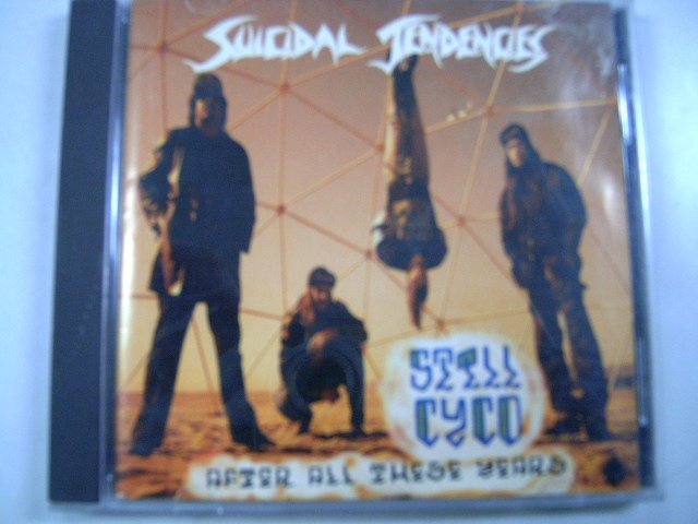 SUICIDAL TENDENCIES still cyco after all theses years CD 1992 CROSSOVER