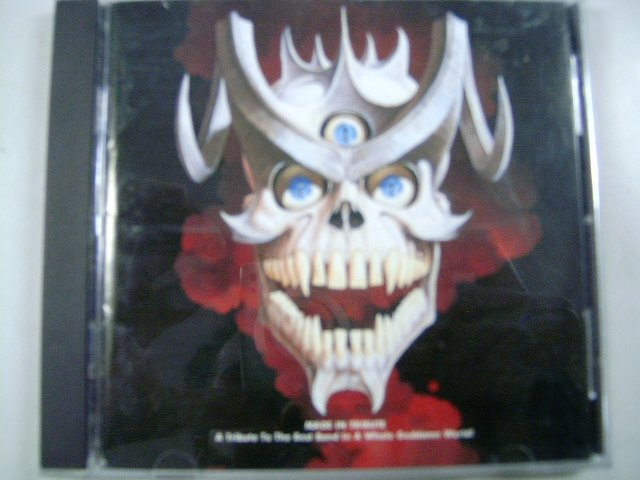 MADE IN TRIBUTE  a tribute to the best band in a whole goddamm world! CD 1997 HEAVY METAL