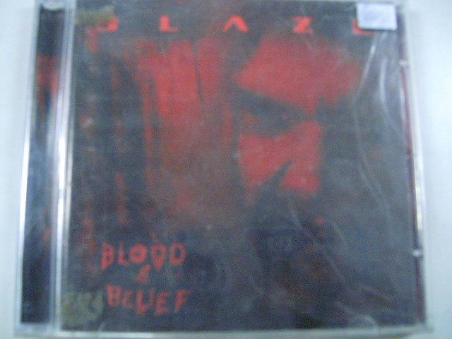 BLAZE blood & belief CD 2004 HEAVY METAL
