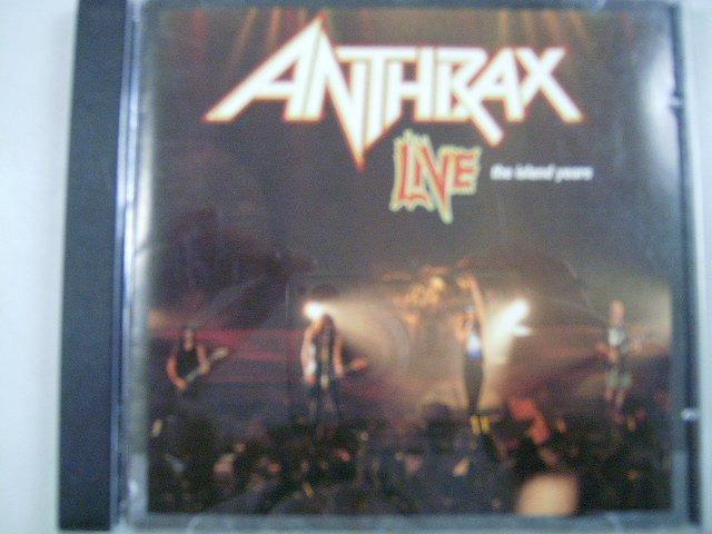 ANTHRAX live - the island years CD 1994 THRASH METAL