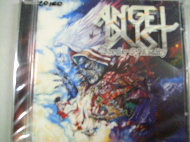 ANGEL DUST border of reality CD 1999 HEAVY METAL