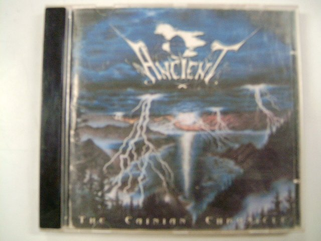 ANCIENT the cainian chronicle CD 1997 BLACK METAL