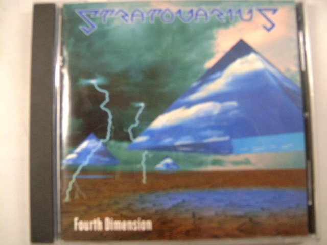 STRATOVARIUS fourth dimension CD 1994 MELODIC HEAVY METAL