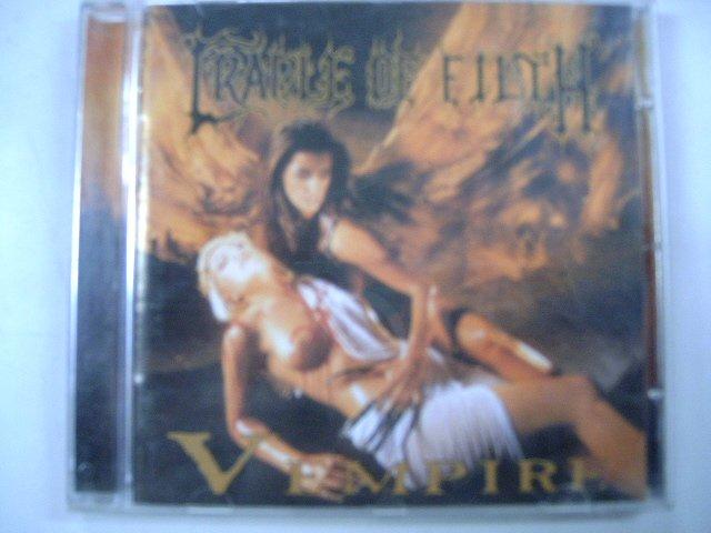 CRADLE OF FILTH vempire or dark faery tales... CD 1996 BLACK METAL