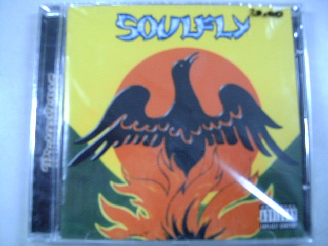 SOULFLY primitive CD 1999 ALERNATIVE METAL
