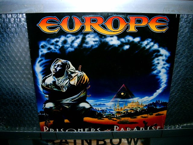 EUROPE prisioners in paradise LP 1991 HARD ROCK
