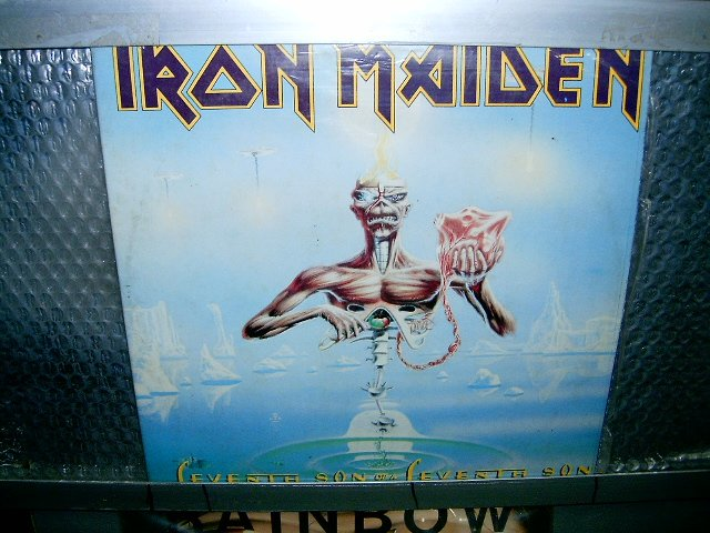 IRON MAIDEN seventh son of seventh son LP 1987 HEAVY METAL*