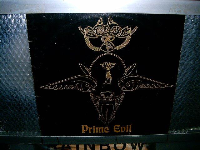 VENOM prime evil LP 1990 BLACK METAL