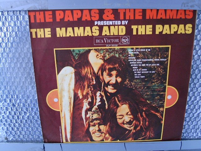 THE MAMAS & THE PAPAS the papas & the mamas LP 1968 POP**