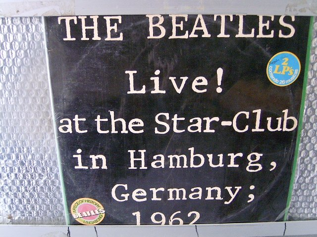 BEATLES live at the star club 2LP 1962 ROCK