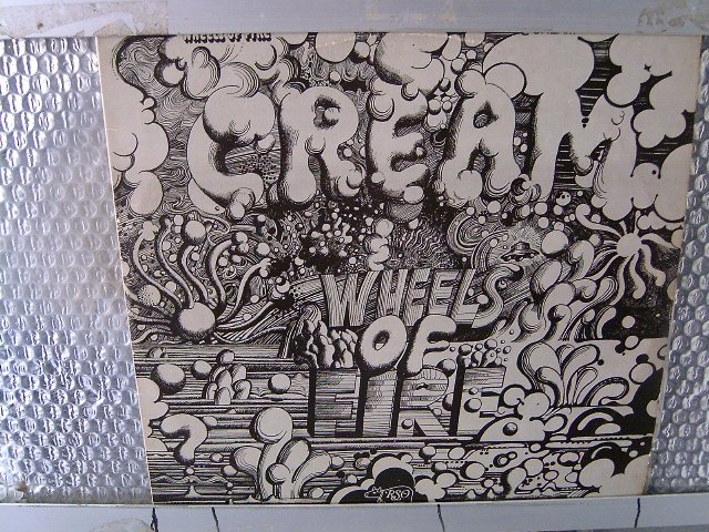 CREAM wheels of fire 2LP 1968 ROCK