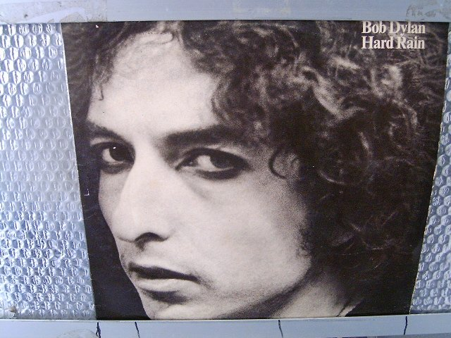 BOB DYLAN hard rain LP 1976 ROCK
