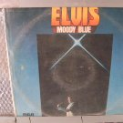 ELVIS moody blue LP 1977 ROCK**