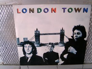 WINGS london town LP 1978 ROCK**