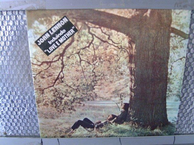 JOHN LENNON john lennon plastic ono band LP 1970 ROCK**
