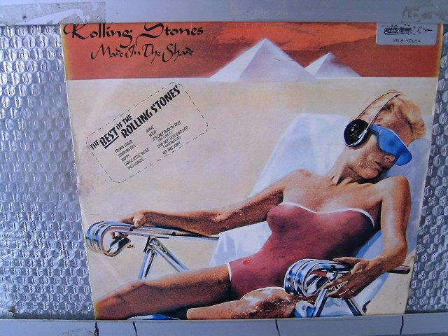 ROLLING STONES made in the shade LP 1975 ROCK