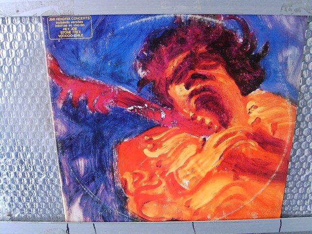 JIMI HENDRIX the jimi hendrix concerts 2LP 1982 ROCK