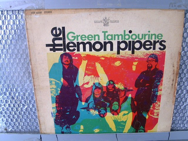 THE LEMON PIPPERS green tambourine LP 1968 ROCK
