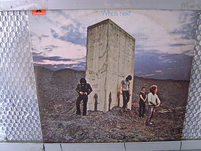 THE WHO who's next LP 1971 ROCK**