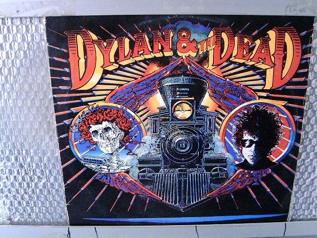 BOB DYLAN dylan & the dead LP 1989 ROCK**