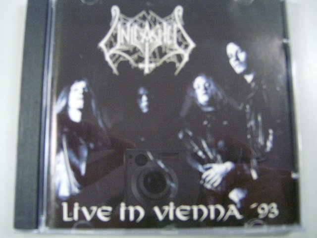 UNLEASHED live in vienna CD 1993 DEATH METAL