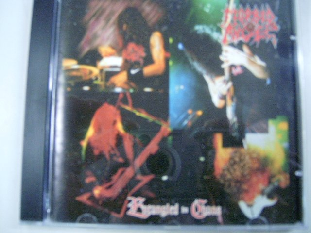 MORBID ANGEL entangled in chaos CD 1996 DEATH METAL
