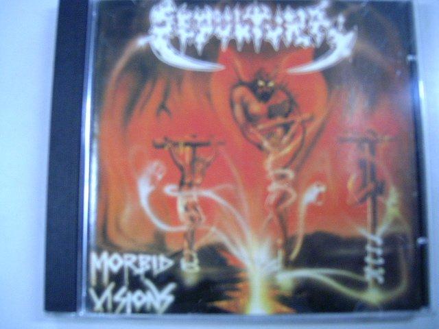 SEPULTURA morbid visions CD 1986 DEATH METAL
