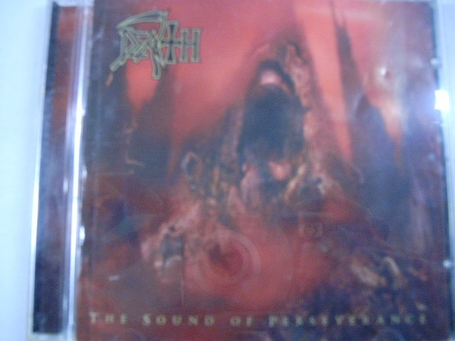 DEATH the sound of perseverance CD 1998 PROGRESSIVE DEATH METAL