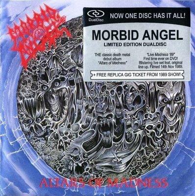 MORBID ANGEL altars of madness CD + DVD 1989 DEATH METAL