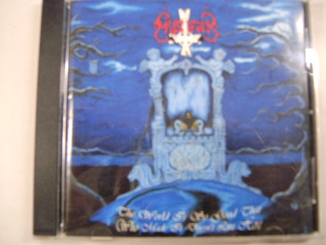 MYSTIFIER the world is so good that who made it doesn't live here CD 1996 BLACK METAL