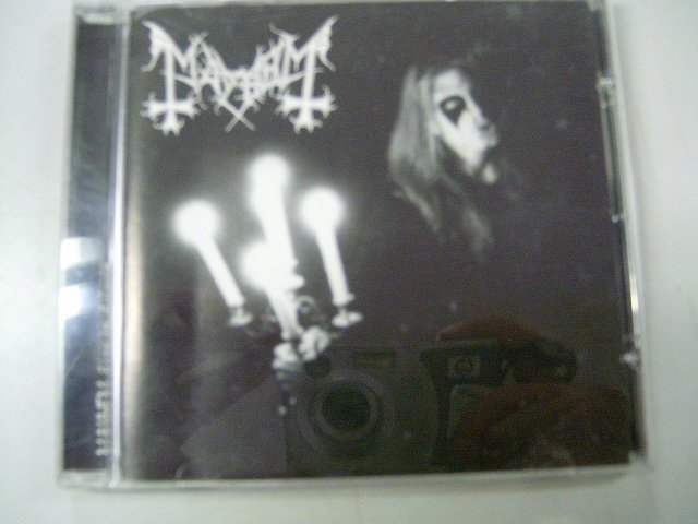 MAYHEM live in leipzig CD 1997 BLACK METAL