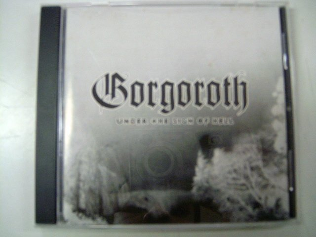 GORGOROTH under the sign of hell CD 1999 BLACK METAL