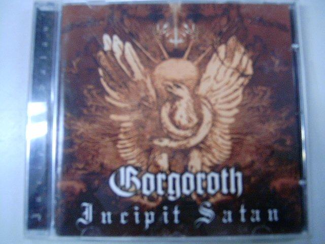 GORGOROTH incipt satan CD 2000 BLACK METAL