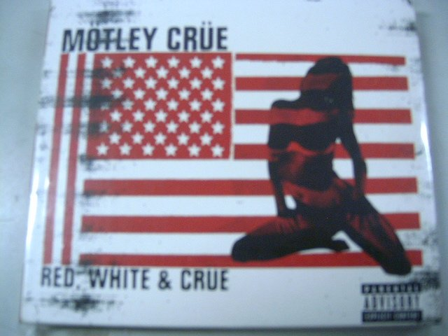 M�TLEY CR�E red, white & crue 2CD 2005 HARD ROCK