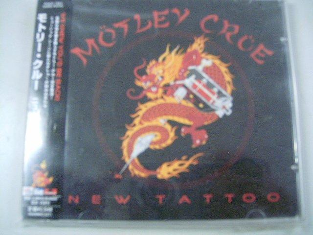 M�TLEY CR�E new tattoo CD 2000 HARD ROCK