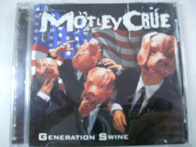 M�TLEY CR�E generation swine CD 1997 HARD ROCK POP