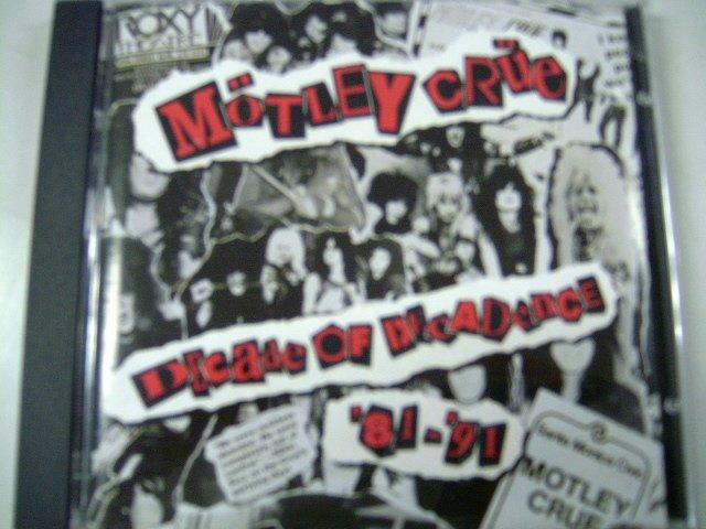 M�TLEY CR�E decade of decadence CD 1991 HARD ROCK