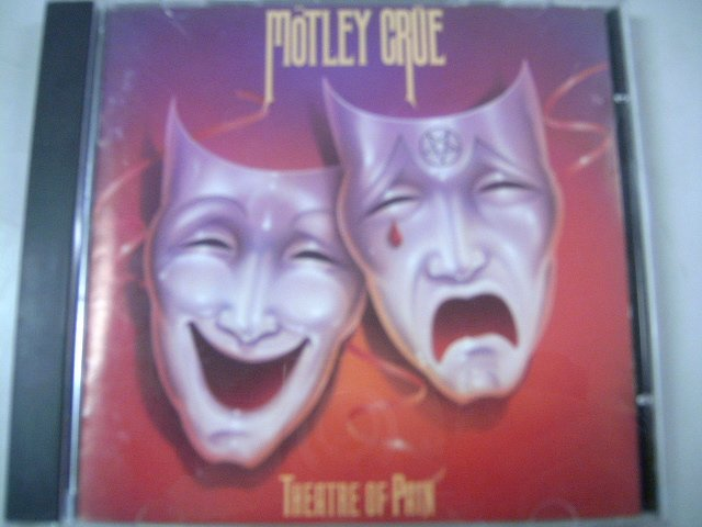 M�TLEY CR�E theatre of pain CD 1985 HARD ROCK