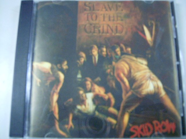 SKID ROW slave to the grind CD 1991 HARD ROCK