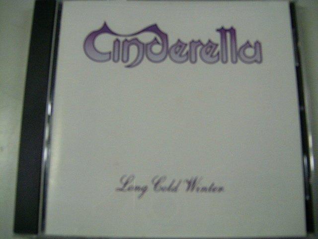 CINDERELLA long cold winter CD 1988 GLAM HARD ROCK