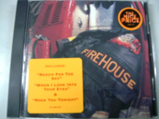 FIREHOUSE hold your fire CD 1992 HARD ROCK