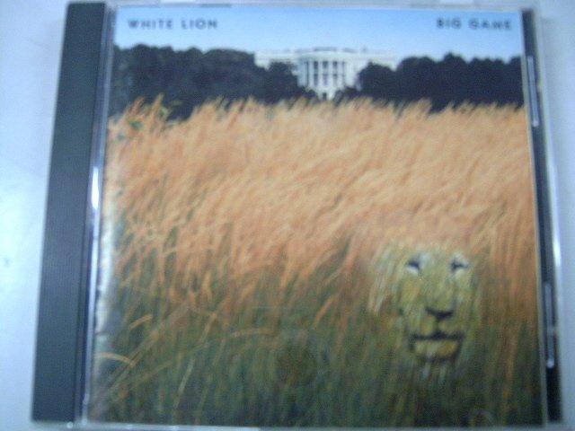 WHITE LION big game CD 1989 HARD ROCK