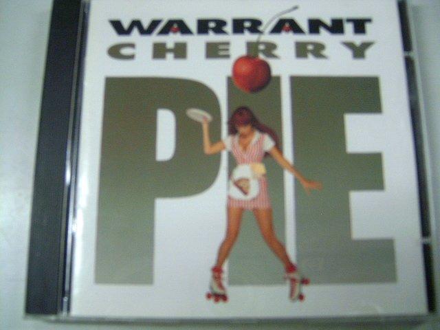 WARRANT cherry pie CD 1990 HARD ROCK