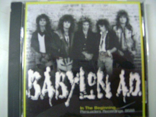 BABYLON AD in the beginning...persuaders recordings 8688 CD 2006 HARD ROCK