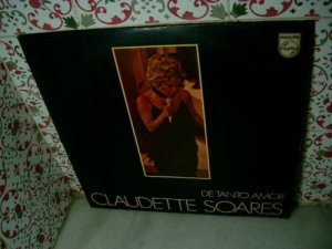 CLAUDETTE SOARES De Tanto Amor LP 1971 ORIGINAL VERY RA