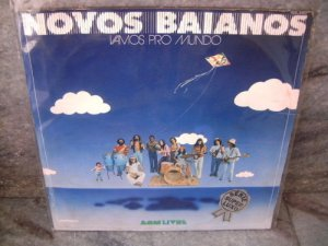 NOVOS BAIANOS Vamos Pro Mundo LP 1974 ORIGINAL PSYCHO T