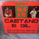 CAETANO VELOSO & GILBERTO GIL Barra 69 LP 1972 ORIGINAL