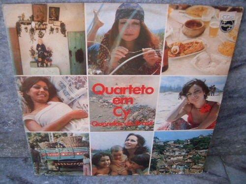 QUARTETO EM CY Querelas Do Brasil LP 1978 ORIGINAL BOS
